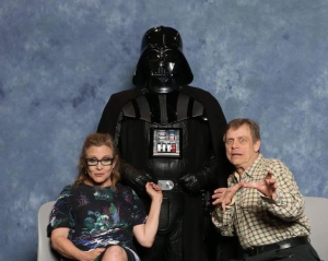 mark hamill carrie fishier and dad