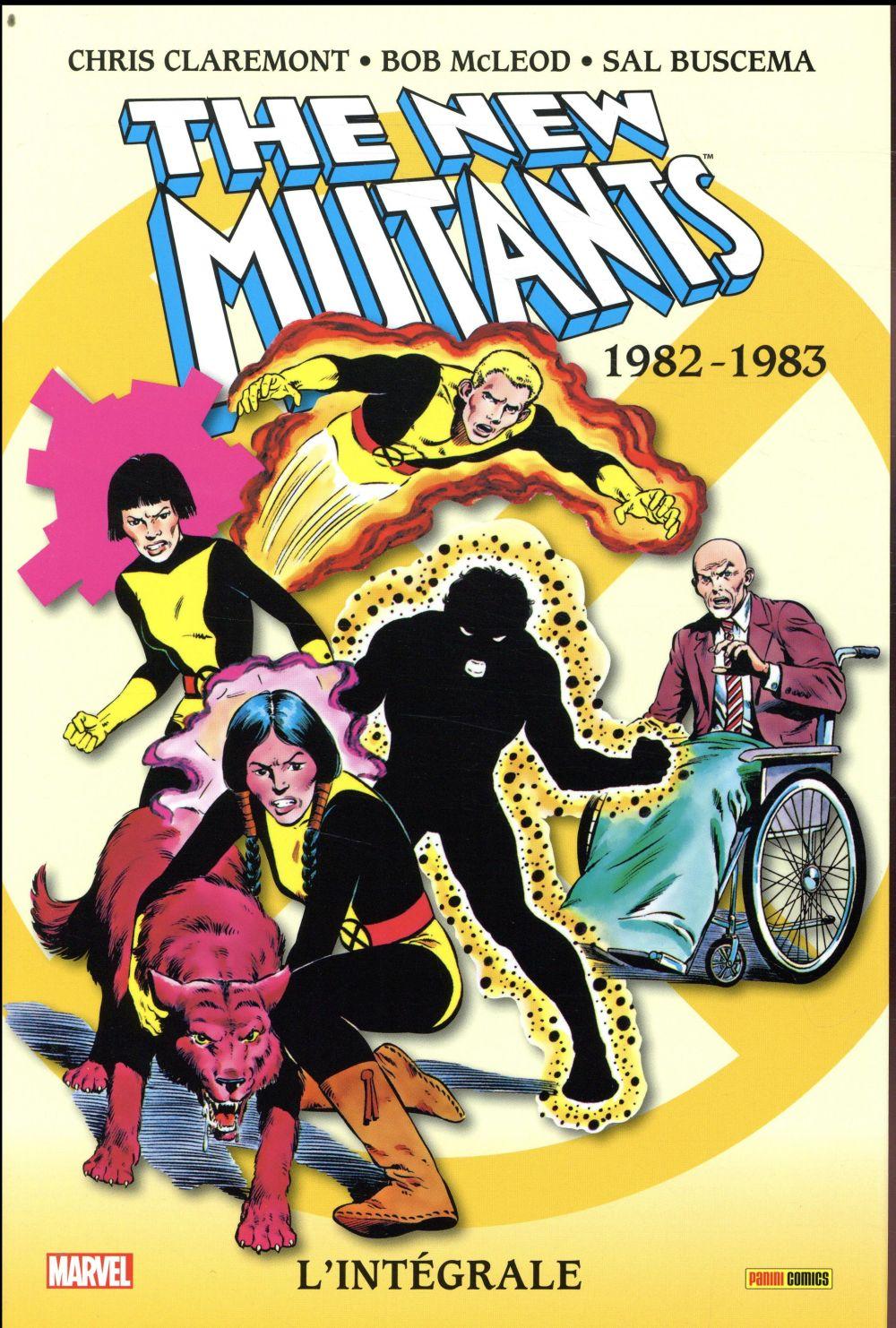 New mutants recueil